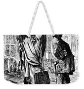 Cholera In Slums, 1866 Weekender Tote Bag