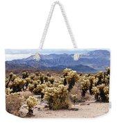 Cholla Cactus Garden Weekender Tote Bag