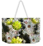 Cholla Flowers Weekender Tote Bag