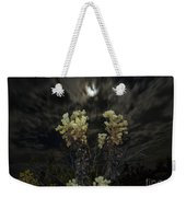Cholla Light - Joshua Tree National Park Weekender Tote Bag