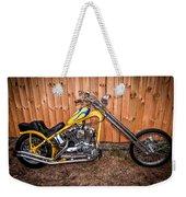 Chopper Custom Built Harley Weekender Tote Bag