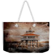 Choptank River Lighthouse Weekender Tote Bag