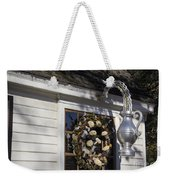 Chownings Tavern Wreath Weekender Tote Bag
