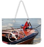 Chris Craft Deluxe Runabout Weekender Tote Bag