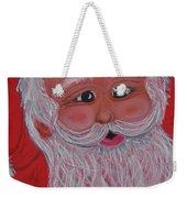 Chris Kringle Weekender Tote Bag