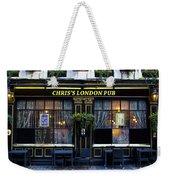 Chris's London Pub Weekender Tote Bag