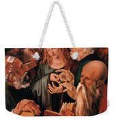 Christ Among The Doctors Weekender Tote Bag