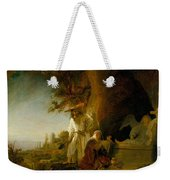 Christ And St Mary Magdalen At The Tomb Weekender Tote Bag