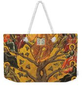Christ And The Apostles Weekender Tote Bag by Unknown
