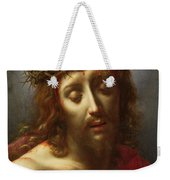 Christ As The Man Of Sorrows Weekender Tote Bag by Carlo Dolci