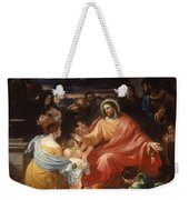 Christ Blessing The Little Children Weekender Tote Bag