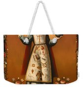 Christ Child With Passion Symbols Weekender Tote Bag