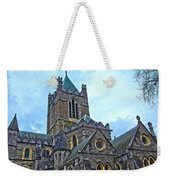 Christ Church Cathedral In Dublin Weekender Tote Bag