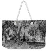 Christ Church Etching Weekender Tote Bag by Debra and Dave Vanderlaan