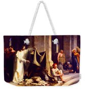 Christ Healing The Sick  Weekender Tote Bag