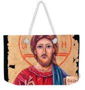 Christ Icon Fresco Weekender Tote Bag