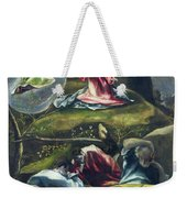 Christ In The Garden Of Olives Weekender Tote Bag