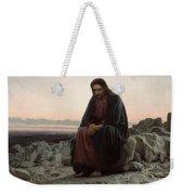 Christ In The Wilderness Weekender Tote Bag