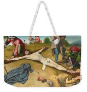 Christ Nailed To The Cross Weekender Tote Bag
