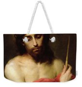 Christ The Man Of Sorrows Weekender Tote Bag by Bartolome Esteban Murillo