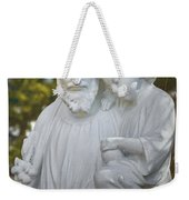 Christ With Child Weekender Tote Bag
