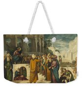 Christ With The Adulterous Woman Weekender Tote Bag