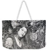 Christan Portrait Weekender Tote Bag