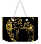 Christian Initial Letter E Weekender Tote Bag