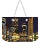 Christian Science Center-boston Weekender Tote Bag by Joann Vitali