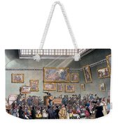 Christies Auction Room, Illustration Weekender Tote Bag