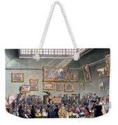 Christies Auction Room, Illustration Weekender Tote Bag