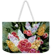 Christina's Bouquet Weekender Tote Bag