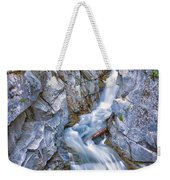 Christine Falls In Mount Rainier National Park Weekender Tote Bag