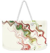 Christmas Abstract Weekender Tote Bag