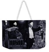 Christmas At Dracula's Weekender Tote Bag