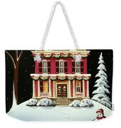 Christmas At Grandma And Grandpa's Weekender Tote Bag