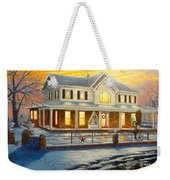 Christmas At The Hibbard's Weekender Tote Bag