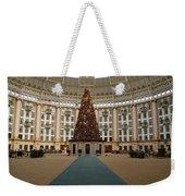 Christmas At West Baden Weekender Tote Bag by Sandy Keeton
