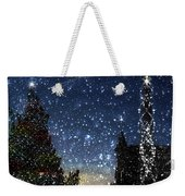 Christmas Baroque Weekender Tote Bag
