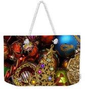 Christmas Beauty Weekender Tote Bag