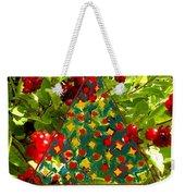 Christmas Berries Weekender Tote Bag