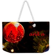 Christmas Best Weekender Tote Bag