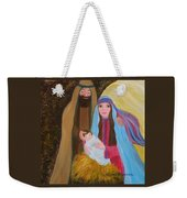 Christmas Blessing Weekender Tote Bag