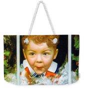 Christmas Boy Weekender Tote Bag