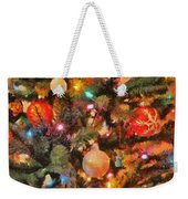Christmas Branches Weekender Tote Bag