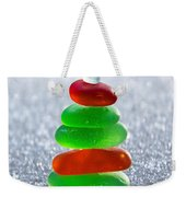 Christmas By The Sea Weekender Tote Bag