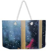 Christmas Candle Weekender Tote Bag