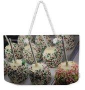 Christmas Candy Apples Weekender Tote Bag