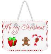 Christmas Card 25 Weekender Tote Bag