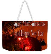 Christmas Card 4 Weekender Tote Bag